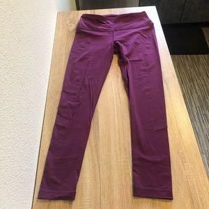 90 Degrees Full Length Purple Legging